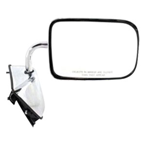 SIDE MIRROR - MANUAL/CHROME - PASSENGER ('89-'93, 150/250/350)