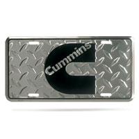 Cummins License Plate