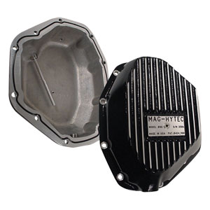 DIFFERENTIAL COVER - MAG-HYTEC - REAR ('94-'02, 2500/3500, 5 and 6 SPEED also 3500, AUTOMATIC TRANSMISSION - DANA 80)