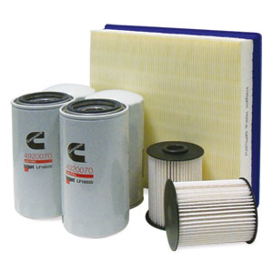 FILTER MAINTENANCE KIT - 4/2/1 - FLEETGUARD ('00-'02, 5.9L)