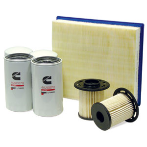 FILTER MAINTENANCE KIT - 4/2/1 - FLEETGUARD ('97-'99, 5.9L)