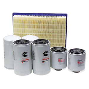 FILTER MAINTENANCE KIT - 4/2/1 - FLEETGUARD ('94-'96, 5.9L)