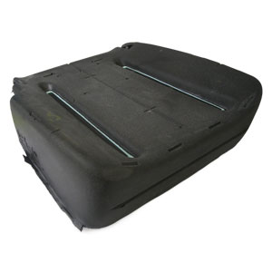 SEAT CUSHION - MOPAR - DRIVER SIDE - CLOTH & LEATHER ('03)