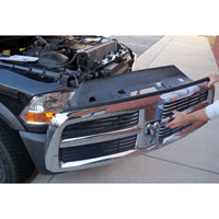Dodge Ram Quick Grille Release Kit