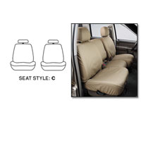 SEAT COVERS - FRONT - COVERCRAFT  ('06-'09, MEGA/QUAD/REG, BUCKETS W/ADJUSTABLE HEADRESTS)