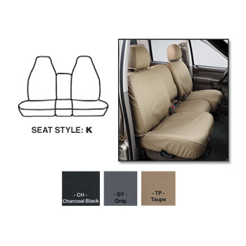 SEAT SAVERS - FRONT - COVERCRAFT ('94-'97, REG/EXT/CLUB - 40/20/40 SEATS)