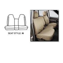 SEAT SAVERS - FRONT - COVERCRAFT ('98-'02, QUAD CAB - 40/20/40 SEATS)