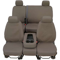 Dodge Ram Rear Seat Cover - Misty Grey
