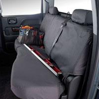 SEAT SAVERS - REAR - COVERCRAFT  ('04-'09,  BENCH W/ADJUSTABLE HEADREST)
