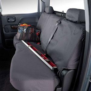 SEAT SAVERS - REAR - COVERCRAFT  ('11-'19,  60/40 SPLIT W/3 ADJUSTABLE HEADREST - W/O ARMREST)