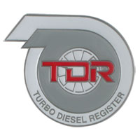 TDR GRILLE BADGE