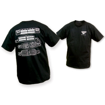 T-SHIRT - DODGE RAM 'EVOLUTION' - BLACK