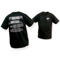 T-SHIRT - DODGE RAM 'EVOLUTION' - BLACK