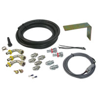TRANSFER PUMP RELOCATION KIT - VULCAN PERFORMANCE - BIG LINE  ('98-'02, 1/2