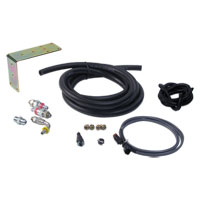 "TRANSFER PUMP RELOCATION KIT - VULCAN PERFORMANCE - STANDARD  ('98.5 - '02, 3/8"" FUEL HOSE)"