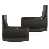 MUD GUARDS - HUSKY LINER - REAR  ('03-'09, REG/QUAD, W/O OEM FENDER FLARES - DRW)