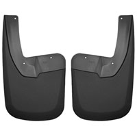 MUD GUARDS - HUSKY LINER - REAR ('10-'18, W/OEM FENDER FLARES - SRW)