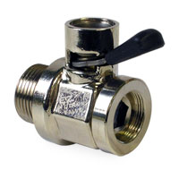 OIL DRAIN VALVE - FINGER TOUCH - 18MM ('02-'21, 6.7L -  5.9L)