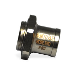 "OIL DRAIN VALVE, REMOVABLE 5/8"" HOSE NIPPLE - FINGER TOUCH - 22MM  ('94-'01, 5.9L)"