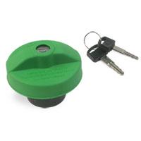 FUEL CAP - LOCKING - GREEN  ('00-'12, 2500/3500 & '08-'22, 3500/4500/5500 C&C)