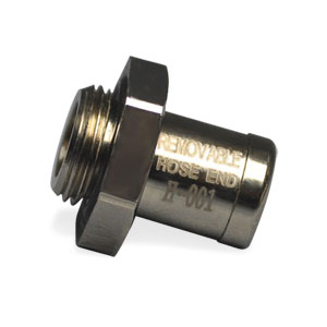"ECODIESEL - OIL DRAIN VALVE, REMOVABLE 3/8"" HOSE NIPPLE - FINGER TOUCH - 3/8""  ('14-'18, 3.0L - 1500)"