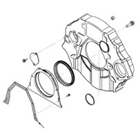 '03-'16 Ram Cummins Rear Main Seal Cover Gasket