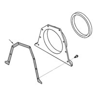 '89-'02 Dodge Cummins Rear Main Cover Gasket