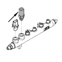 '03-'07, 5.9L Dodge Cummins Fuel Rail Pressure Relief Valve
