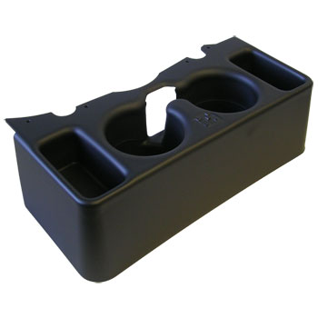 CUP HOLDER - 'DOUBLE CUP' CENTER CONSOLE ('13-'18)