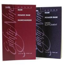DODGE RAM OWNER'S MANUAL  ('89, DW250/350 - DIESEL)