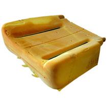 SEAT CUSHION - MOPAR - PASSENGER SIDE - CLOTH & LEATHER  ('03)