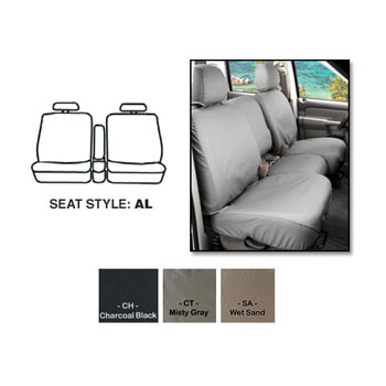 SEAT SAVERS - FRONT- COVERCRAFT ('13-'16, ALL CABS - 40/20/40 W/CENTER STORAGE)