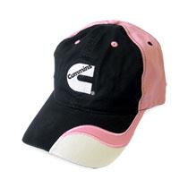 BALL CAP - CUMMINS - PINK/WHITE/BLACK
