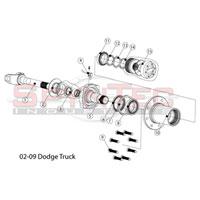 Dodge Ram Front Manual Locking Hub Kit