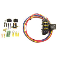AUXILIARY FUSE BLOCK - 3 CIRCUIT (1 CONSTANT, 2 IGNITION) - PAINLESS PERFORMANCE