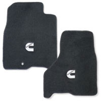 FLOOR MATS - AVERY'S - CUMMINS 'C' - FRONT ('10-'12, ALL CABS)