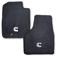 FLOOR MATS - AVERY'S - CUMMINS 'C' - FRONT ('03-'09, ALL CABS)