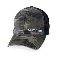 CAP - CUMMINS WASHED MESH CAP
