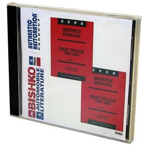 DODGE RAM FACTORY SERVICE MANUAL - CD ('00)