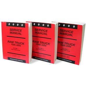 DODGE RAM FACTORY SERVICE MANUAL - PRINT ('00)