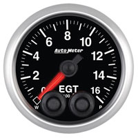 ELITE SERIES - EGT GAUGE (0-1600°) - AUTO METER
