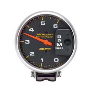 Auto Meter Pro Comp Diesel Tachometer 0 6 000 RPM