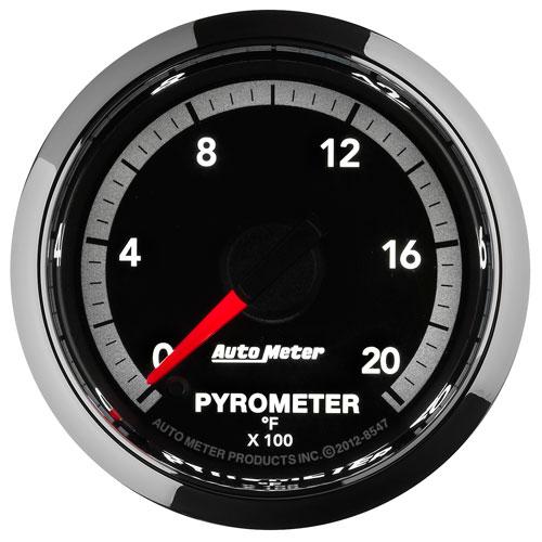 AutoMeter 4G Factory-Match 2000F EGT Gauge