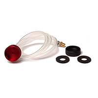 POWER BLEEDER ACCESSORY - ROUND ALUMINUM ADAPTER