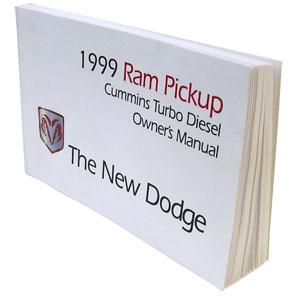 DODGE RAM OWNER'S MANUAL ('99, 2500/3500 - DIESEL)