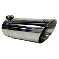 """EXHAUST TIP - ANGLE CUT - SS - MBRP (3.5"""" to 4"""")"""