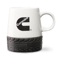 CUMMINS TIRE TREAD MUG