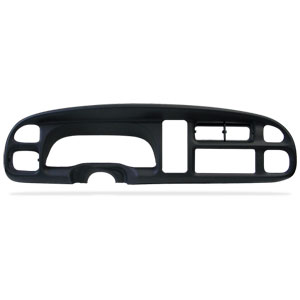 DASH INSTRUMENT BEZEL - MOPAR ('99-'02, 2500/3500 and '99-'01, 1500)