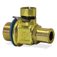 OIL DRAIN VALVE - FUMOTO FINGER TOUCH - 22MM WITH NIPPLE ('94-'01, 5.9L)