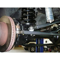 Dodge Ram Synergy Heavy-Duty Steering Kit Installed